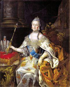俄羅斯帝國女沙皇 葉卡捷琳娜二世