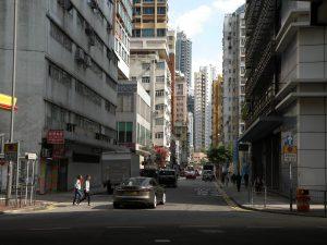 經過多次填海工程,晏架街今非昔比