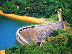 干德道為1864年薄扶林水塘發展計劃的一部分